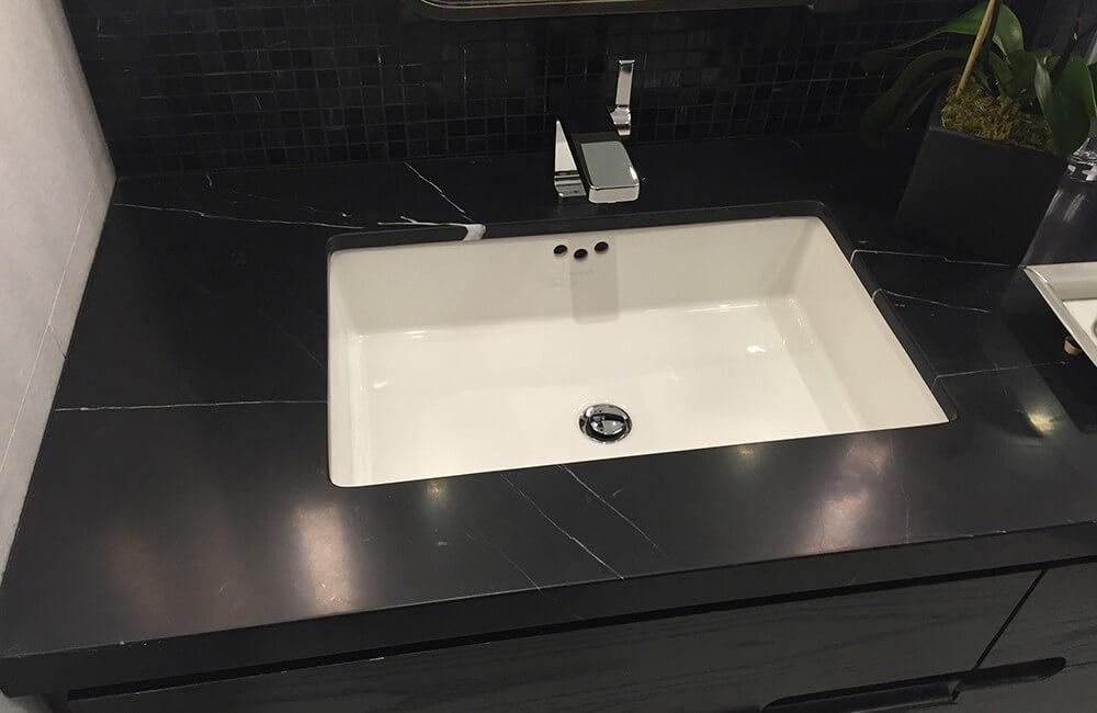 Nero Marquina Marble Vanity Tops