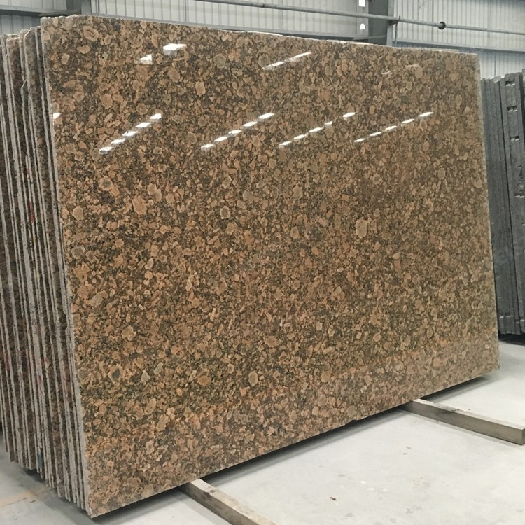 Giallo Veneziano Granite Slabs for Island Top