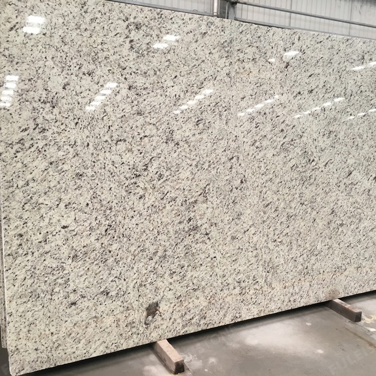 Brazilian White Rose Granite Slabs for Countertops