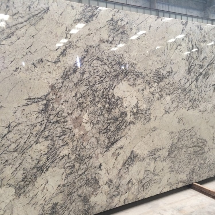White Ice Blue Granite Slabs for Tops