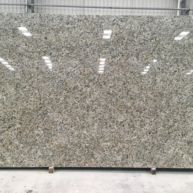 Brazil Yellow Butterfly Granite Slab for Countertop