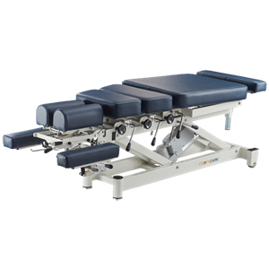 Electric chiropractic table