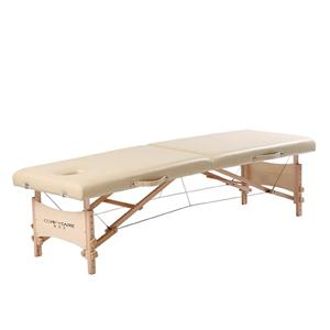 Adjustable massage table