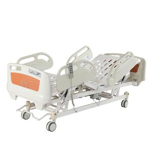 5 section Luxury Adjustable Height Electric ICU Health Care Hospital Bed