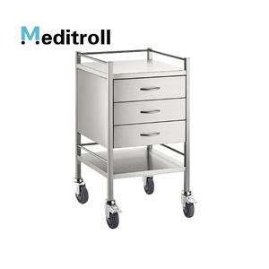 MEDITROLL MT03 instrumen stainless steel troli
