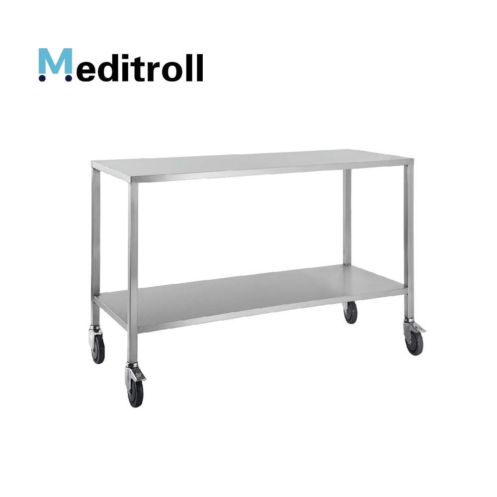 MEDITROLL MTE2 stainless steel instrument trolley