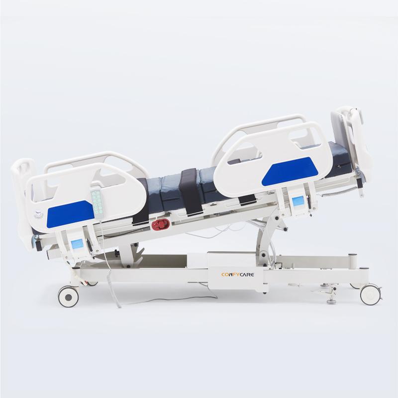 tilting hospital bed