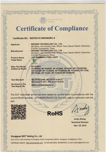 Certificate for European,USA market,etc