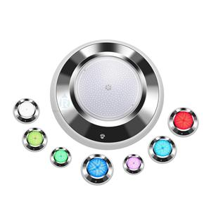 Ultra Thin 316L Stainless Steel Full Color LED Pool Light