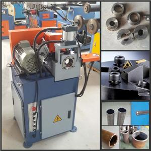 Single Head Pneumatic Stainless Steel Tube End Facing Machine