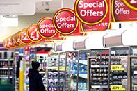 supermarket label