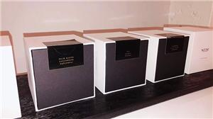 We provide labels of perfume box for our customers