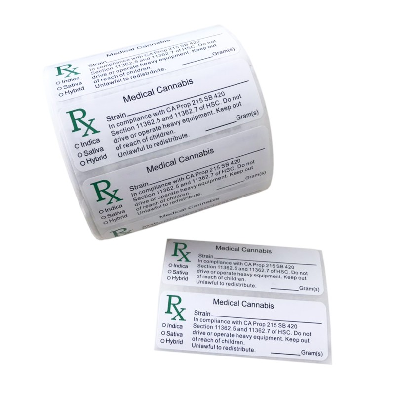 RX Medical labels Manufacturers, RX Medical labels Factory, Supply RX Medical labels