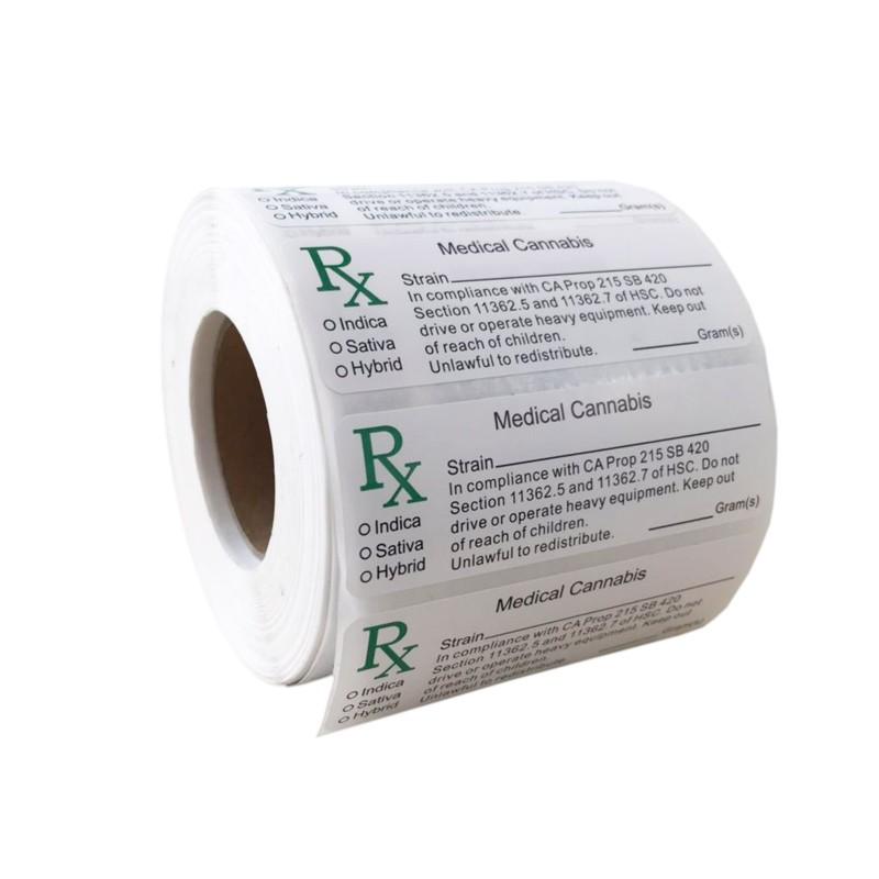 RX Medical labels Manufacturers, RX Medical labels Factory, Supply RX Medical labels