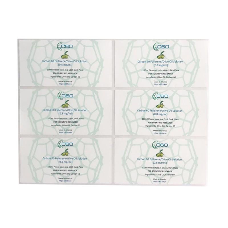 Essential oil label sticker Manufacturers, Essential oil label sticker Factory, Supply Essential oil label sticker