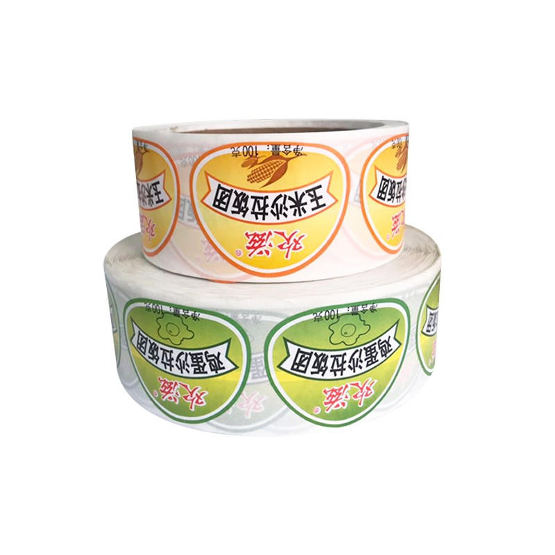 Custom food label stickers Manufacturers, Custom food label stickers Factory, Supply Custom food label stickers