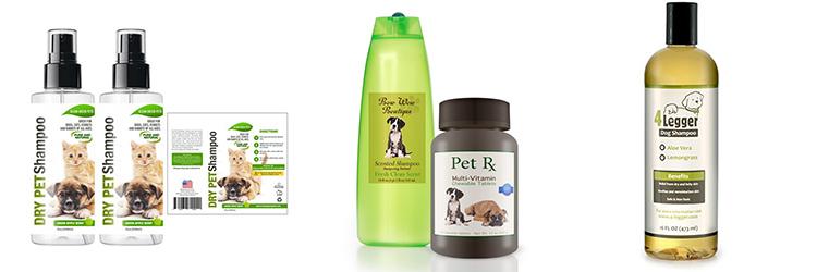 pet product label