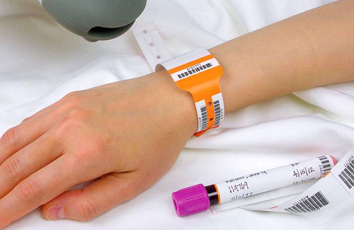 hospital label
