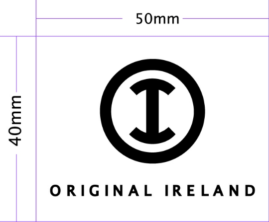 logo label sticker