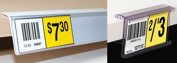 gondola price label