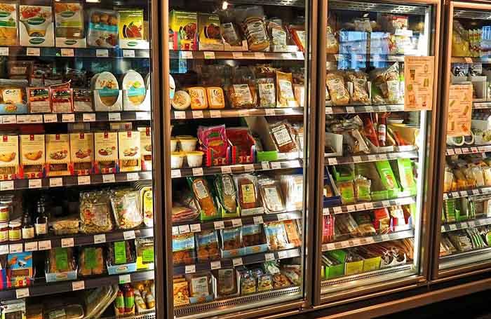 supermarket shelf label