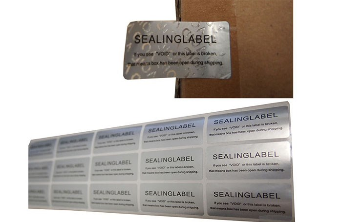 Use of supermarket anti-theft labels