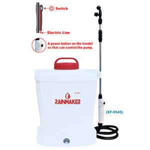 Rechargeable battery sprayer