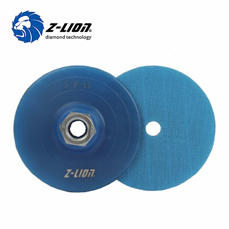 Blue Plastic Backer Pad Holer For Angle Grinder Polishing Pads