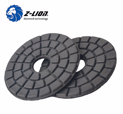 Soft Backed Diamond Vacuum Brazed Polishing Pad
