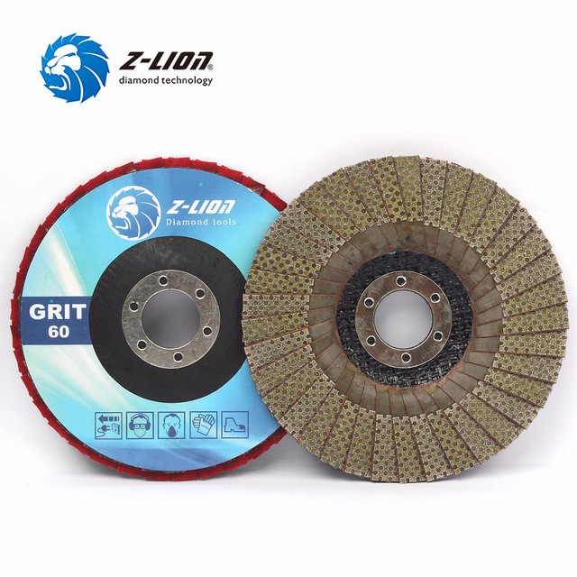 Diamond Grinding Wheel Flap Discs For Angle Grinder Stone Polishing