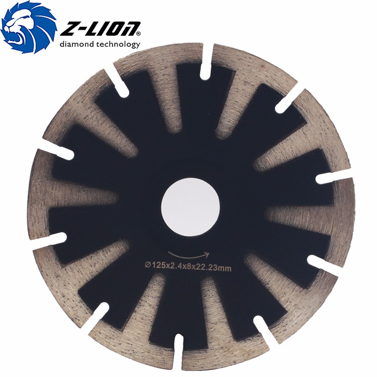Customize High Quality T Shape For Marble Cureve Diamond Saw Blade