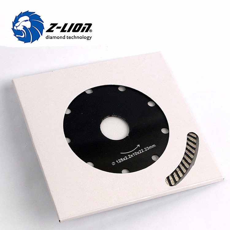 Diamond Cutting Tools Turbo Blade Granite Marble Tile Cutting Discs