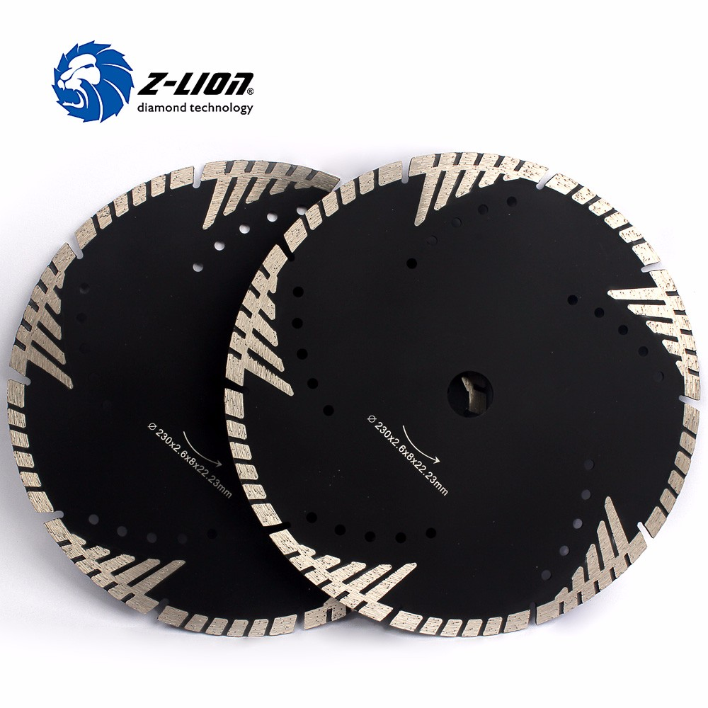 2 Pcs Diamond Cutting Disk Two Side Design Grinding Wheel
