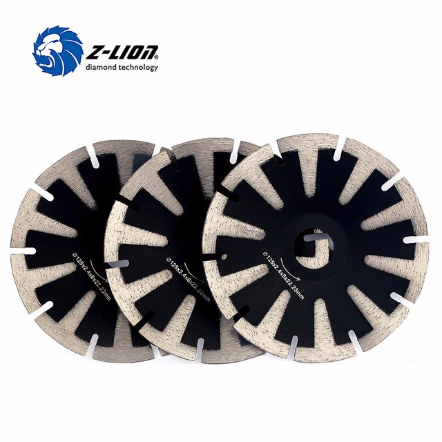 Diamond Turbo Rim Blades Curve Cutting Disc t Segment Tooth