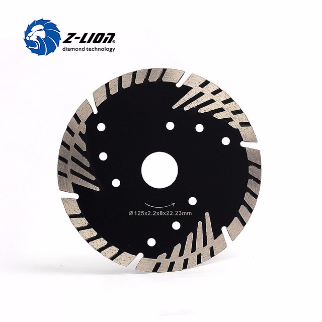 Z Lion 125mm Diamond Saw Blade Granite Stone Cutting