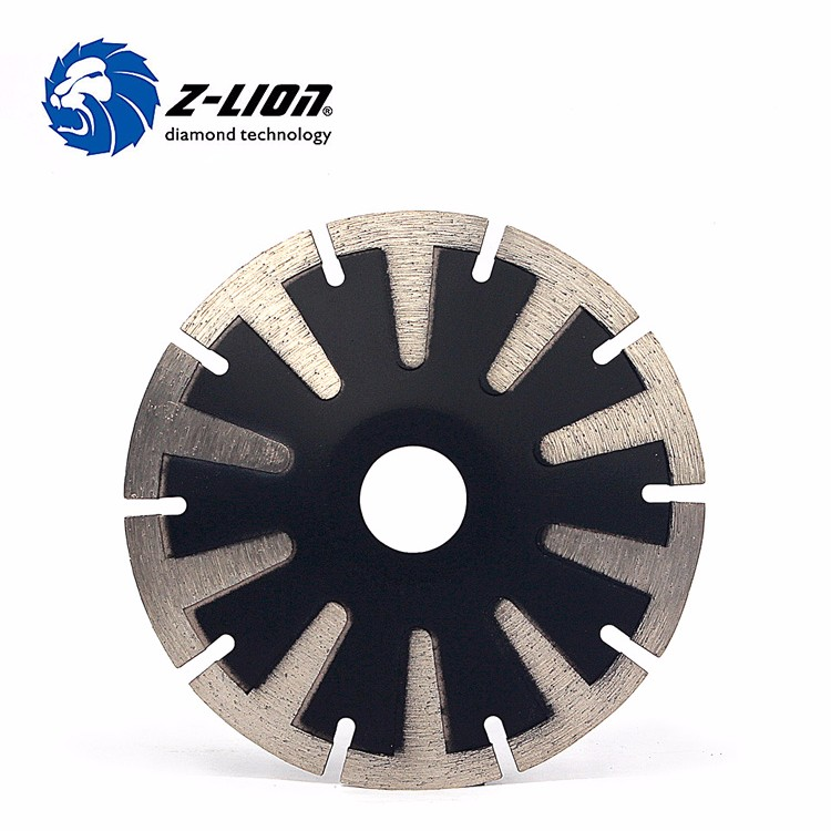 5 inch T-Segmented Diamond Blade Turbo Rim 125 mm