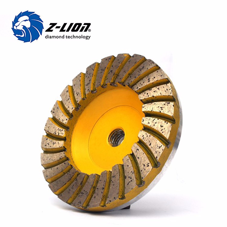 100mm M14 Turbo Aluminum Grinding Cup Wheels
