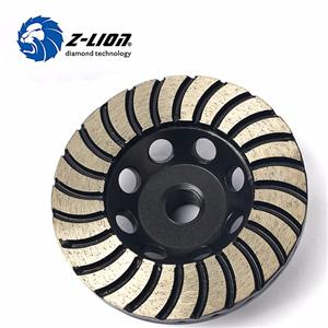 Concrete Floor Turbo Row Diamond Grinding Wheels
