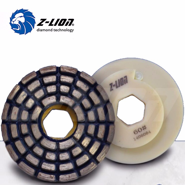 Z Lion Snail Lock Concrete Floor Diamond Grinding Cup Wheels