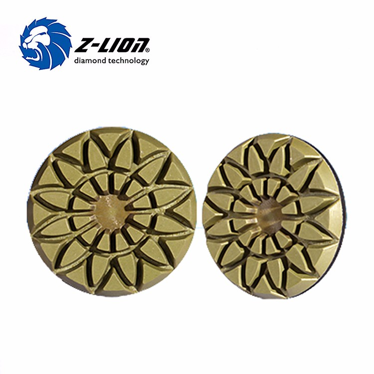 Sunflower-Rose Diamond Floor Polishing Pads