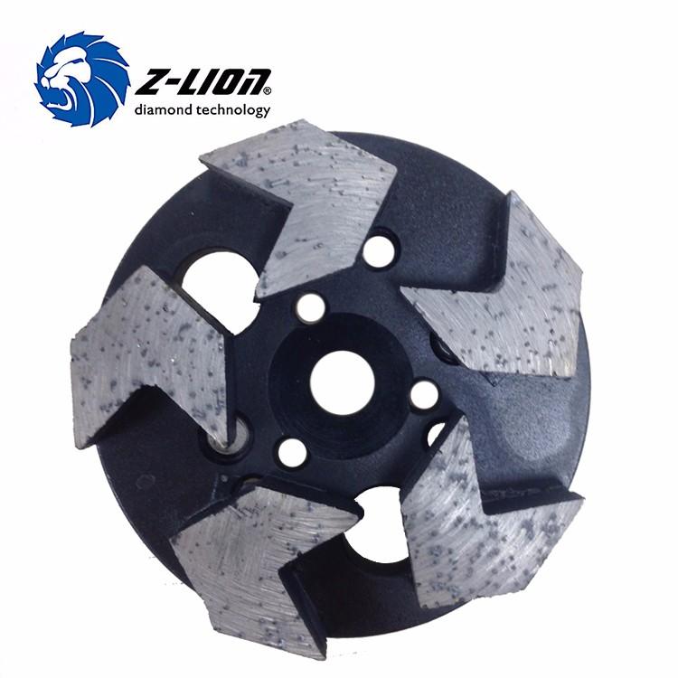 Z Lion Round Edge Stone Diamond Grinding Wheel