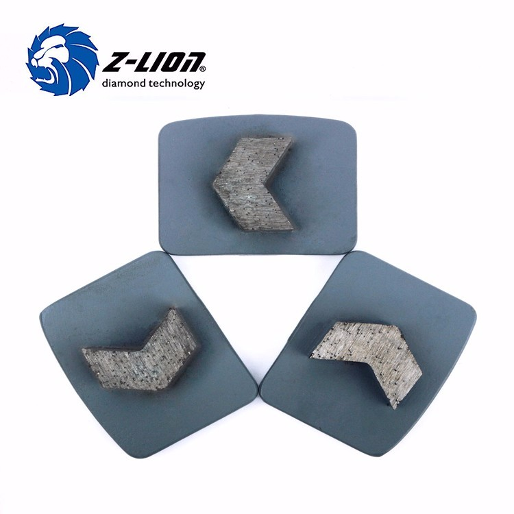Z Lion Diamond Concrete Disc Tools Floor Grinding Head Wheel