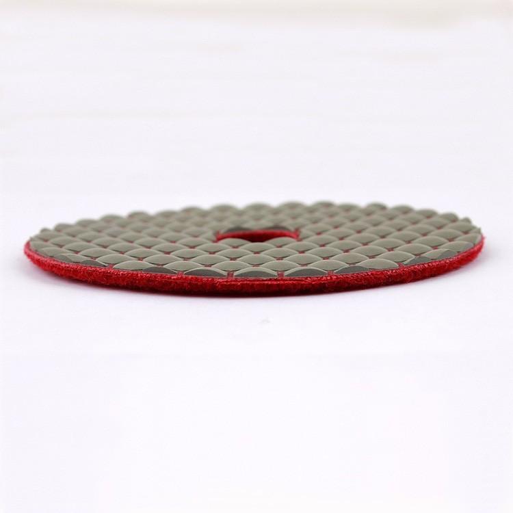3 Inch Dry Polishing Pads Resin Bonded Diamond Zlion Brand