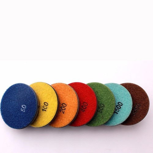 Resin Bond Wet Polishing Pads For Floor Renew