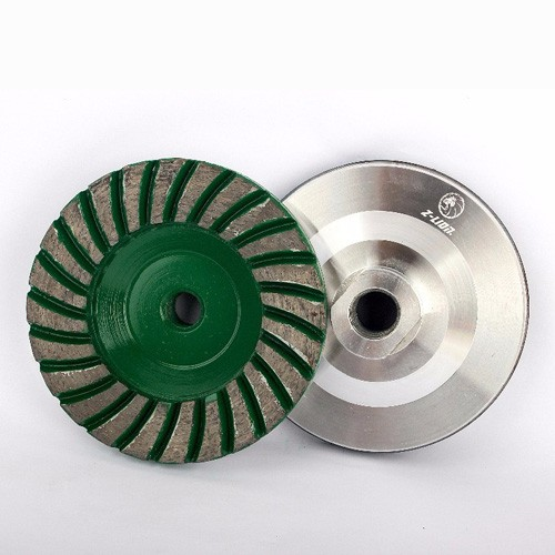 cheap Aluminum Wheels Wet Or Dry Use Diamond Cup Wheel