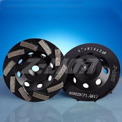 Aluminum Bond Diamond Cup Wheels For Sale