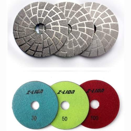 vacuum Brazed Diamond Grinding Pads For Polishing