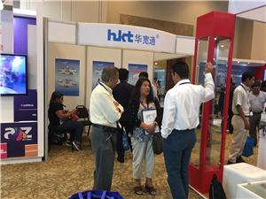 HKT joined the international exhibition at Andinalink Colombia in 2017