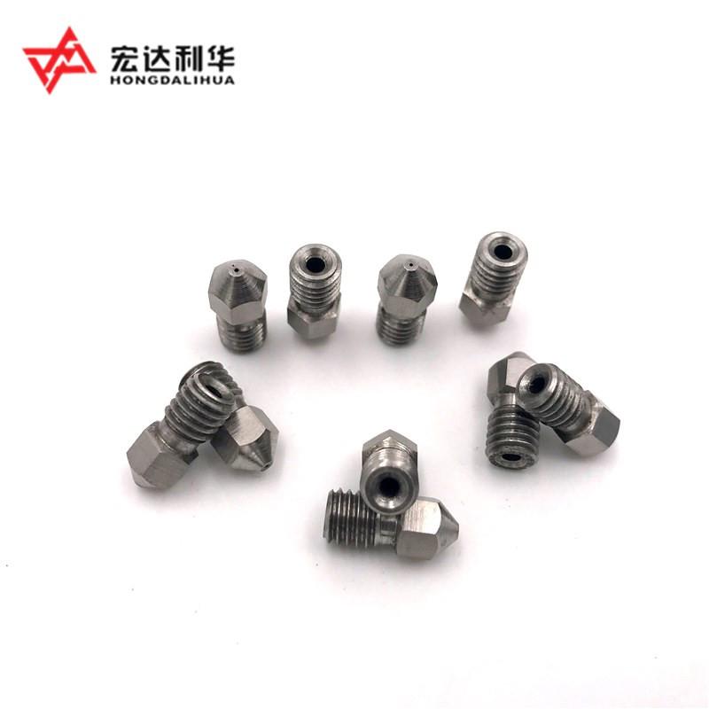 Sales China Tungsten Carbide 3D Printer Nozzles HRA55 HRA92