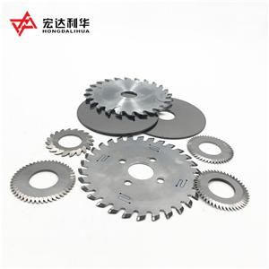 Customized Tungsten Carbide Disc Cutter With 80 Teeth Dia25